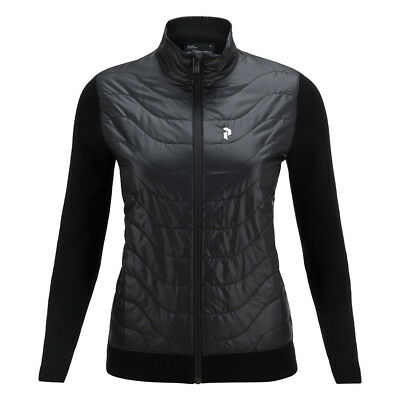 Peak Performance Merino Wool Jacket with Pinneco® Insulation in Black