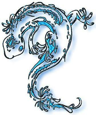 Elegant Geckos 10 Machine Embroidery Designs Cd 2 Sizes Included