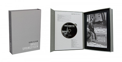 NEW BRUCE SPRINGSTEEN signed BORN TO RUN Deluxe Limited Edition AUTOGRAPHED book