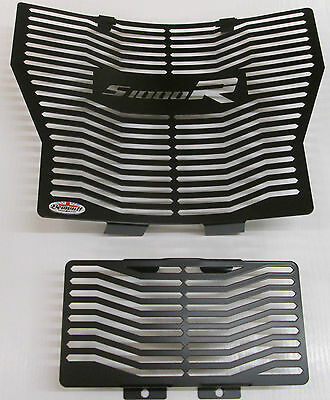 BMW S1000R(14-16) Beowulf Radiator and oil cooler guards, grills, covers BLACK