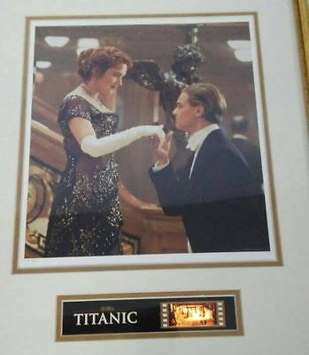 Titanic Dicaprio Winslet Lithograph Film Cel Photograph Gallery Ed Proof 16 New