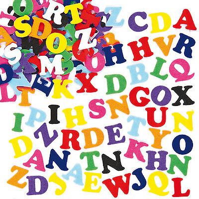 Adhesive Felt Upper Case Letters for Kid's Crafts & Card Making (Pack of 550)