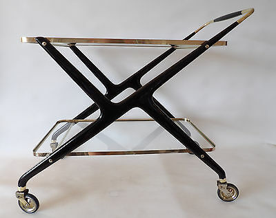 Vintage Cesare Lacca Bar -  Serving Cart - Trolley - Midcentury - Italian C.1950