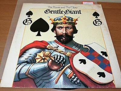 GENTLE GIANT - The Power And The Glory - LP 1974 WWA RECORDS ITALY - VG/EX