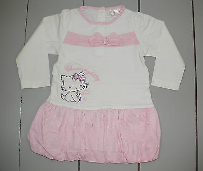 Robe Blanche Rose Fille Taille 18 Mois Hello Kitty Vetement