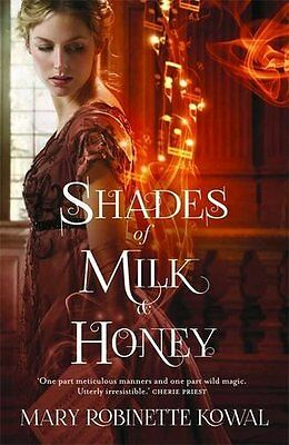 Shades of Milk and Honey New Paperback Book Mary Robinette Kowal