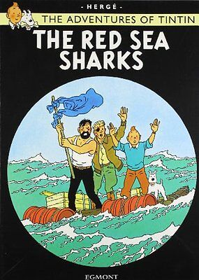 The Red Sea Sharks (The Adventures of Tintin) New Paperback Book Herge