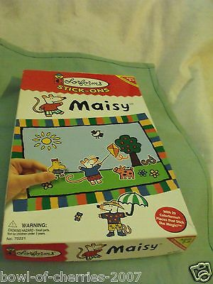 Colorforms Stick-ons Maisy, Play Set & 29 Colorforms, #70221, 1999