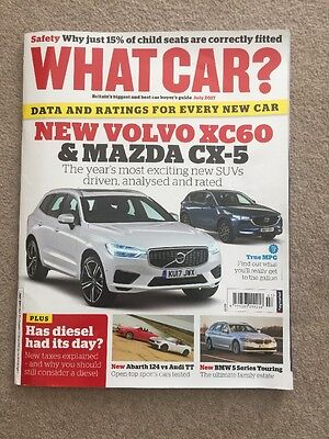 What Car ?   Magazine    July 2017 English Monthly