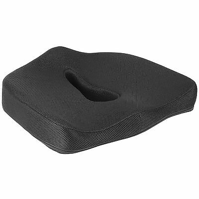 Supportec Memory Foam Car/Office/Wheelchair Pressure/Posture Cushion Seat Pad