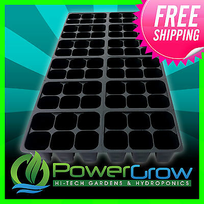 SEEDLING SEED STARTER TRAY INSERTS 144 Easy Pop Out Cells Seed Starting