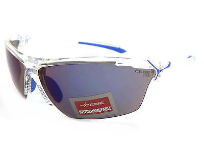Cebe CINETIK 10 Lens Sunglasses Clear / Grey Blue Flash Mirror + Yellow + Clear