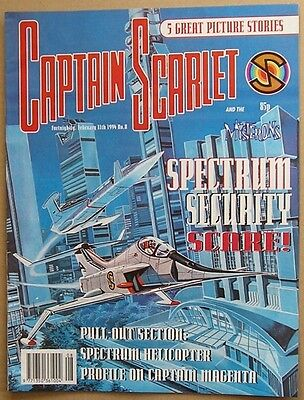 Captain Scarlet and the Mysterons Comic Issue 8 from Febuary 1994