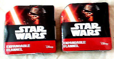 Disney Star Wars Magic Flannel / Face Cloth  New