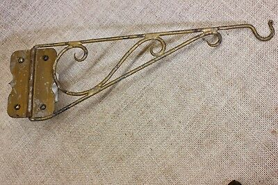 Plant Hook Bird Cage hanger old lantern lamp vintage HAND MADE wrought iron #2