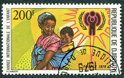 DJIBOUTI 1979 200f SG754 used NG International Year of the Child a #W29