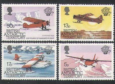 BAT 1983 Planes/Aircraft/Aviation/Flight/Transport/Animation 4v set (n36362)