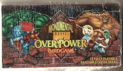 Marvel Over Power Monumental Starter Deck Box (Fleer)