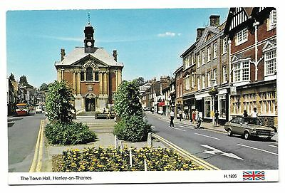 Postcard: The Town Hall, Henley on Thames, Oxfordshire