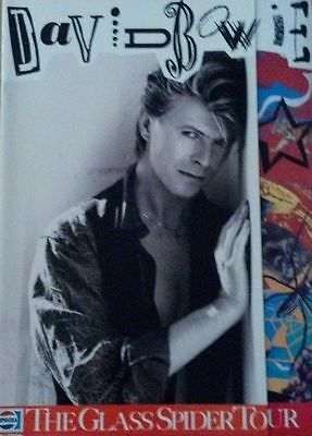 David Bowie- Glass Spider Original Program 1987
