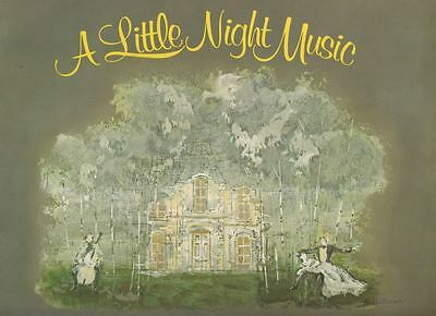 "Glynis Johns  ""A Little Night Music""  Souvenir Program 1973  Broadway  Sondheim"