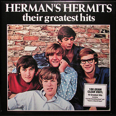 Herman's Hermits THEIR GREATEST HITS 180g Best Of ULTIMATE New CLEAR VINYL LP