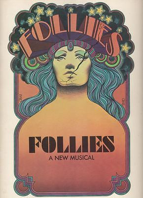 "Yvonne De Carlo  ""Follies""  Souvenir Program 1971  Broadway  Sondheim"