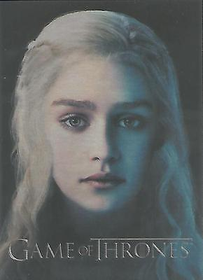 "Game of Thrones Season 3 - PC6 ""Daenerys Targaryen"" Gallery Chase Card"