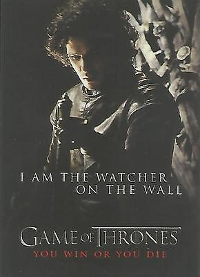 """Game of Thrones Season 1 - SP5 """"You Win or You Die"""" Chase Card"""