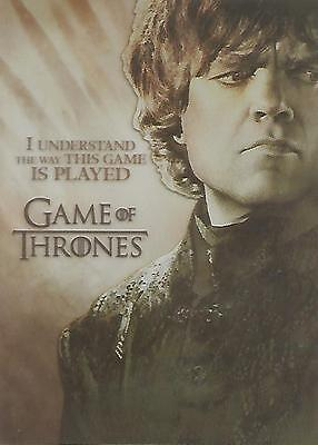"Game of Thrones Season 2 - PL1 ""Tyrion Lannister"" Plastic Gallery Chase Card"