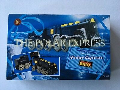 New BRIO Wooden The Polar Express Battery Powered Train 32500