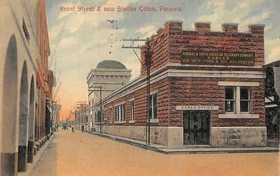 Panama To Usa Scott #197 Stamp Telegraph Company Cables Office Beer Postcard '14