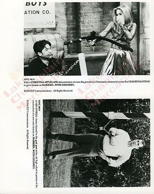 MARRIED WITH CHILDREN Press Photo #105 8X10 Christina Applegate DAVID FAUSTINO