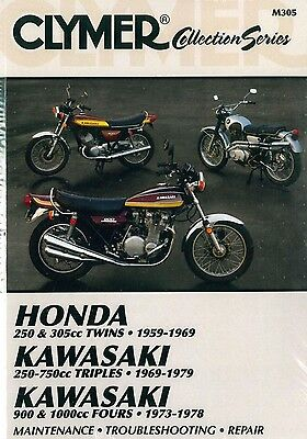 Clymer Service Manual Honda Dream Touring Ca77 1960-1969, Hawk Cb72 1961-1966