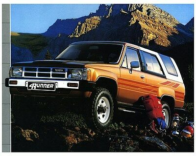 1986 Toyota 4Runner SUV Truck Factory Photo ca6842
