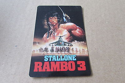 Rambo 3 Stallone Calendar Card From Korea  2  (Auc)