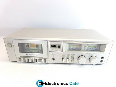 Technics RS-M205 Stereo Audio Cassette Deck Tape Player/Recorder