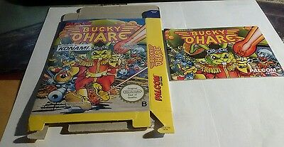NES Bucky O'Hare original Anleitung und Verpackung Instruction and Box