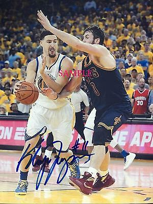 Klay Thompson #1 Reprint Autographed Photo Signed 8X10 Golden State Warriors Rp