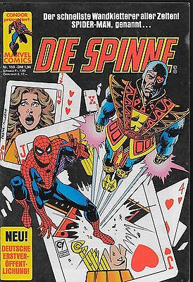 Die Spinne (Spider-Man) Nr.103 / 1984 Jack of Hearts / Condor Verlag