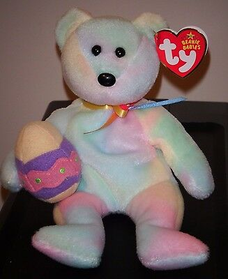 Ty Beanie Baby ~ EGGS 2006 the Easter Bear ~ MINT with MINT TAGS ~ RETIRED