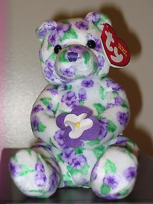 Ty Beanie Baby ~ CORSAGE the Bear ~ MINT with MINT TAGS ~ RETIRED