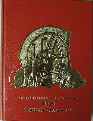Vintage Cat Book  The Cat Fanciiers' Association Inc.  1985 Yearbook