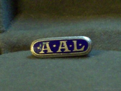 Vintage Insurance Pin Aid Association for Lutherans AAL Badge Thrivent Financial