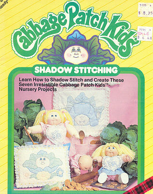 Pattern Book CPK Dolls Shadow Stitching Seven Nursery Projects Sewing Patterns