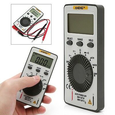 AN101 Pocket Digital Multimeter Backlight AC/DC Automatic Portable Meter