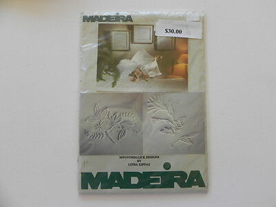 Madeira  Surface Embroidery Kit - Whites - Designs 3 & 4