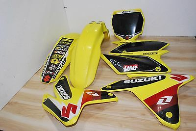 05 2005 Rmz450 Rm-Z450 Rmz 450 Fender Front Rear Side Front Plate Number Shroud