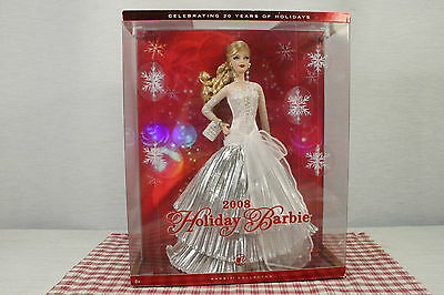 2008 HOLIDAY BARBIE, New, never removed from box.