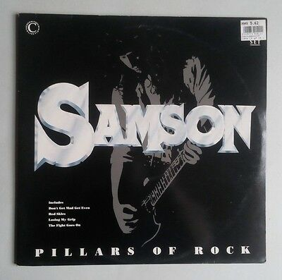 Samson - Pillars Of Rock - 2 × Vinyl LP UK 1990